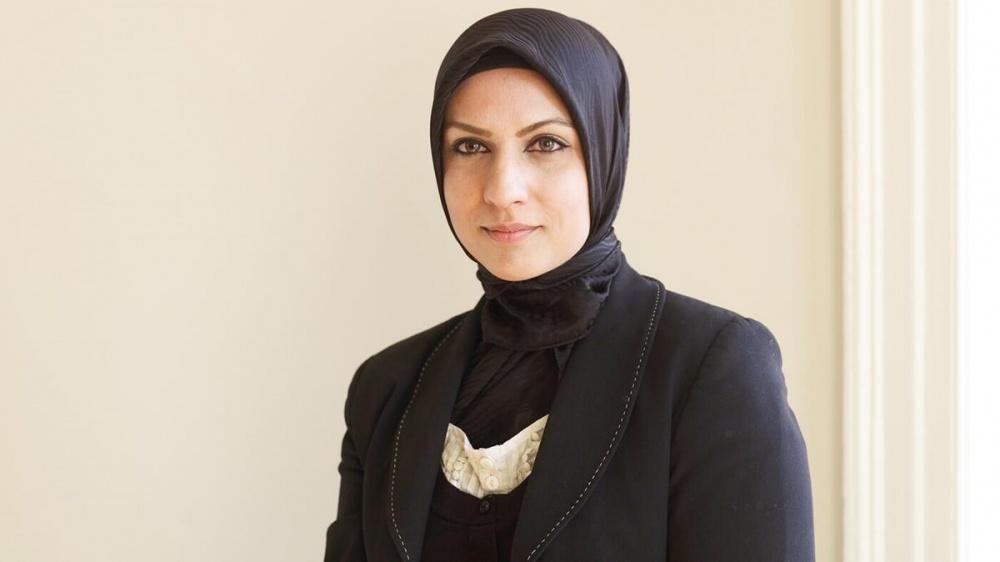 RaffiaArshad first judge wearing hijab